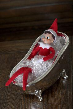 Elf in Tub