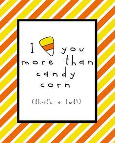 Candy Corn Printable.