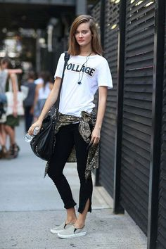 fashion weeks, sneaker, collag, gym outfits, street styles, street style fashion, new york fashion, t shirts, shoe