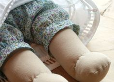 Doll shorts undies bloomers pattern and tutorial