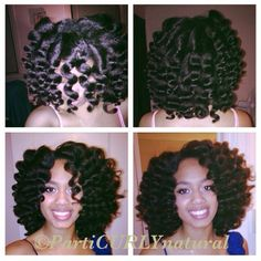 WAND CURLS ON BLOW OUT