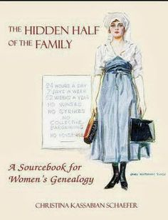 Gena's Genealogy: Telling HerStory 2014: The Hidden Half of the Family. #WomensHistoryMonth #genealogy