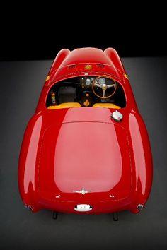 Ferrari 340 MM Spider #sportscar #automobile #red #car