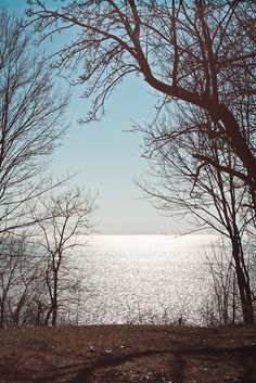 The Great Lakes in winter