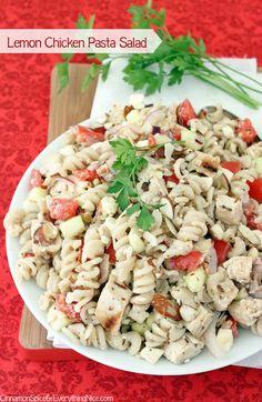 Lemon Chicken Pasta Salad