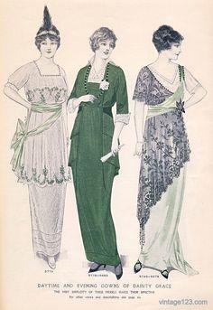 Fashion Plate - McCall's Magazine, March 1914.