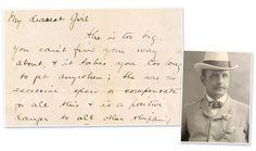 Titanic... letter from a passenger