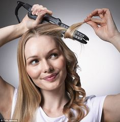 How to curl hair with straighteners: Follow our step-by-step guide to master the style