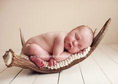 baby on deer horns deer horns, futur, newborn pictur, newborn photo, antlers, deer hunting, babi, photo idea, photographi