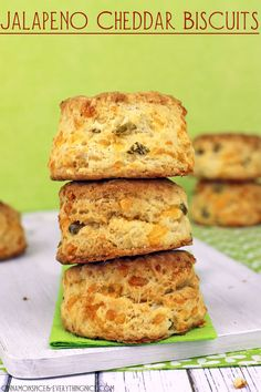 Why do you need these spicy, cheesy, flaky biscuits in your life?