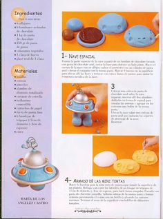space ship cake how 2