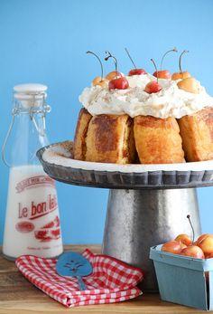 French Toasted Angle Food Cake
