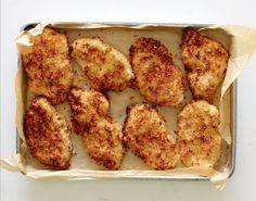 Buttermilk *Baked* Chicken, a yummy, healthier alternative to Buttermilk Fried Chicken