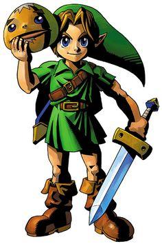 "Link from ""The Legend of Zelda"""