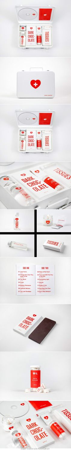 A First Aid Kit For Desperate Lovers – Love Hurts and the team loves it  #2013 #toppin PD