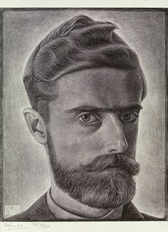 M.C. Escher. Self Portrait