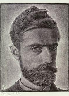 M.C. Escher. Self Portrait