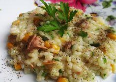 Orez cu ton si legume