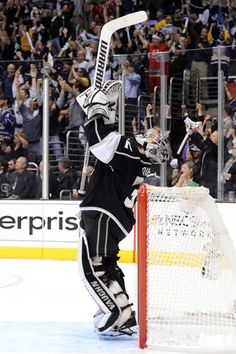 Jonathan Quick - The 2012 Conn Smythe Trophy recipient.
