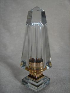 Vintage DIOR BACCARAT Obelisk Lipstick Case