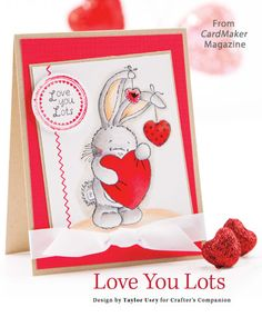Love You Lots from the Winter 2014 issue of CardMaker Magazine. Order a digital copy here: http://www.anniescatalog.com/detail.html?code=AM5255