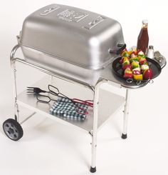 Portable Kitchen Charcoal Grill and Smoker- The best cooking, most durable cooker ever made... The Portable Kitchen cast aluminum charcoal grill and smoker!