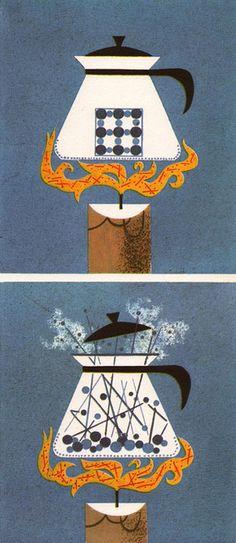 Our Friend the Atom Illustration 8  1956 Walt Disney Book by Heinz Haber