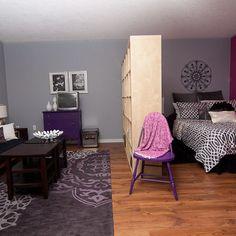 Bedroom Studio Apartment Design