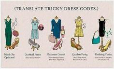 Translate Tricky Dress Codes | www.prepavenue.com
