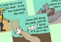 Free Storyboard Printable: Parable of the Sower