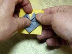 Folding the Black Eyed Susan Origami Bonsai Flower