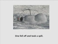 5 Little Snowmen book and visuals