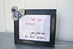 dry erase picture frame diy Pamela Joyce