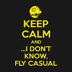 geek, nerdi, funni, star wars, keep calm, quot, fli casual, thing
