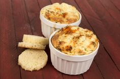 Chevre and Lobster 'Cheesecakes'