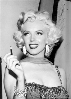 Marylin Monroe, looking in her prime.