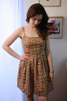 summer sundress pattern