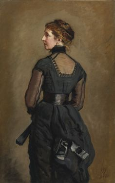 Portrait of Mrs. Kate Perugini, daughter of Charles Dickens Sir John Everett Millais 1880