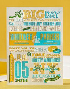 // Melange elum letterpress wedding invitations Letterpress Wedding Invitations