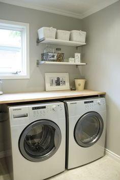 laundry shelves | laundry room shelves