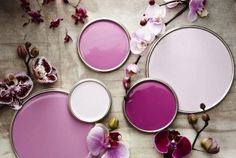 Color Trend: Radiant Orchid | Shades of purple