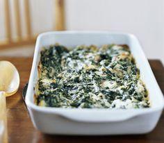 veggi, spinach recipes, gratin recip, food, spinach gratin