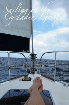 Pic of the Week: Sailing in the Cyclades, Greece http://solotravelerblog.com/photo-sail-cyclades/