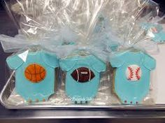 sports boy baby shower decorations - Buscar con Google