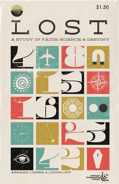 """Lost - a study in faith, science and destiny   Designer: Trevordunt   Available as an 11x17"""" print on Etsy"""