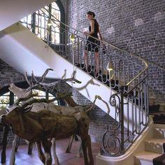 The Luxurious Le Royal Monceau Hotel, Paris. France