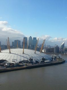 Things to see in London. View from the Emirates Cable Car