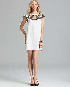 DIANE von FURSTENBERG Dress - Achava Embellished | Bloomingdale's