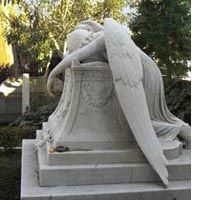 Angel of Grief, Protestant Cemetery in Rome