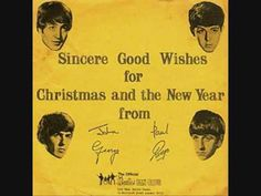 Listen to the Beatles' Christmas Records: Seven Vintage Recordings for Their Fans (1963 – 1969)